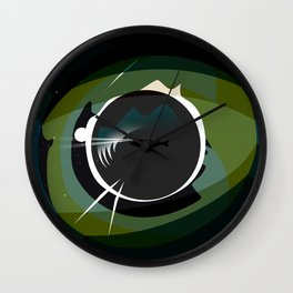 20,000 Leagues Under the Sea Design Wall Clock