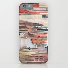 Italy, watercolor Slim Case iPhone 6s