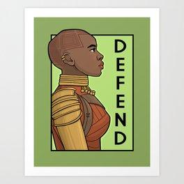Defend Art Print
