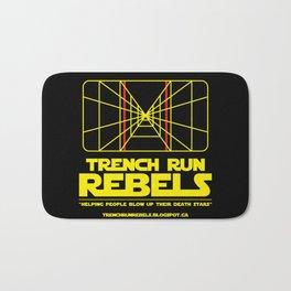 Trench Run Rebels Bath Mat