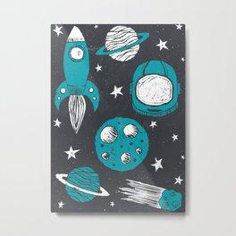 Space Age Metal Print
