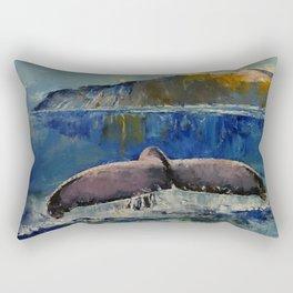 Whale Song Rectangular Pillow