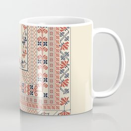 Palestinian traditional embroidery motif Coffee Mug