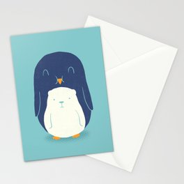 My Belly is a Polar Bear Stationery Cards