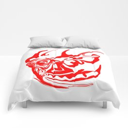 face8 red Comforters