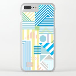Pacific Mountains Clear iPhone Case