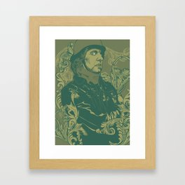 Pål Pot Pamparius Framed Art Print