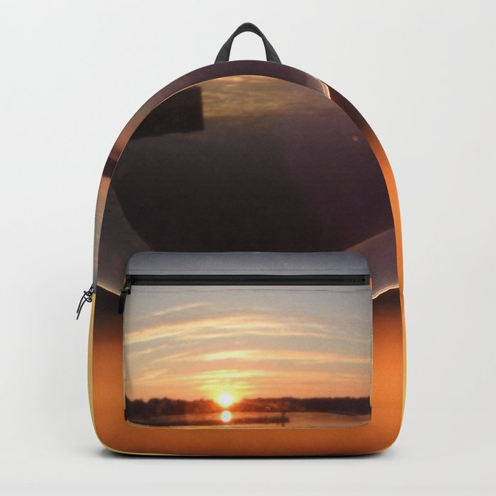 Sunset Through the Crystal Ball Backpack