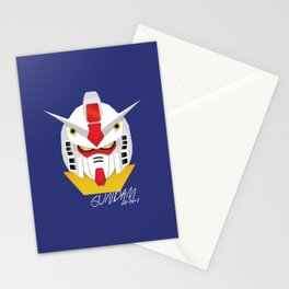 Gundam Material Stationery Cards