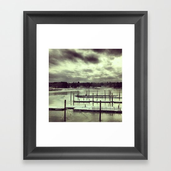 Manchester by the Sea Framed Art Print
