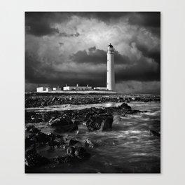 Barns Ness Lighthouse Canvas Print