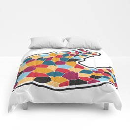 Graphic Love  Comforters