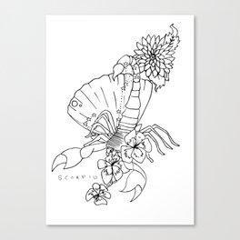 // Scorpio // Canvas Print