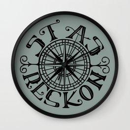 Stas Reskon - Chasing Danger Wall Clock