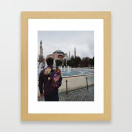 "Man N Bear ""Aya Sofia"" Framed Art Print"