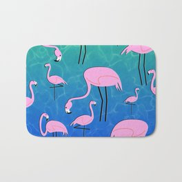 Flamingo Pond Bath Mat