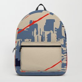 Golden gate bridge vector art Backpack