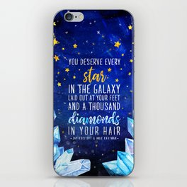 Star and Diamonds iPhone Skin