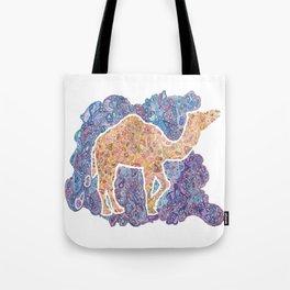 Kaleidoscope Camel Tote Bag