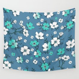 Lovable Flowers 6 Wall Tapestry