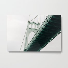 closing the gaps Metal Print