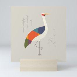 Brolga Mini Art Print