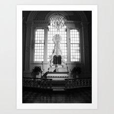 WHITEOUT : Sinful Art Print