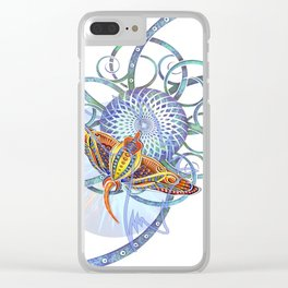 Sting Ray Mount Clear iPhone Case