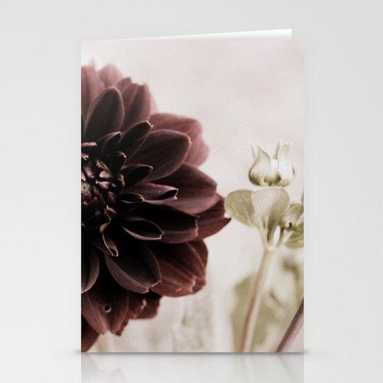 Dahlia - solitaire 122 Stationery Cards