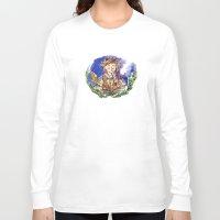 the hobbit Long Sleeve T-shirts featuring Hobbit by Kris-Tea Books