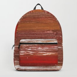 Chestnut abstract watercolor Backpack