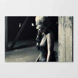 Madame Tristesse Canvas Print