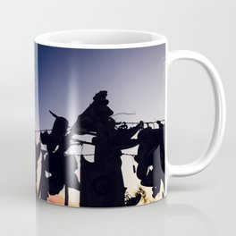 Strung up at Sunset Coffee Mug