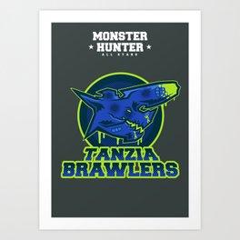 Monster Hunter All Stars - The Tanzia Brawlers Art Print