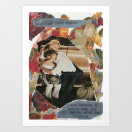 only the Lord knows Art Print