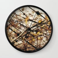 tangled Wall Clocks featuring Tangled by Laura George