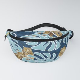 LEOPARDS IN THE JUNGLE Fanny Pack