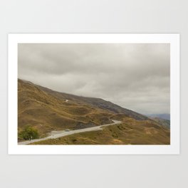 Mountains Art Print