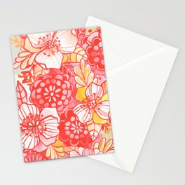 In the Red Stationery Cards