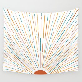 Sunshine All Around Wall Tapestry