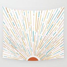 Sunshine All Around Wall Tapestry