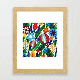 Turkish garden Framed Art Print
