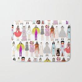 Outfits of Bjork Fashion Bath Mat
