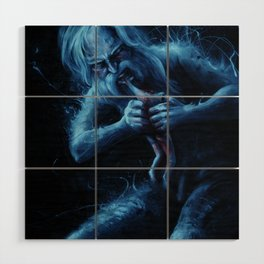 Saturn Devouring His Young (After Goya) Wood Wall Art
