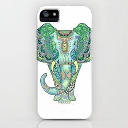Mandala Elephant iPhone Case