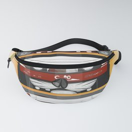 The cassette tape Fanny Pack