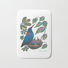 Mama Bird Bath Mat
