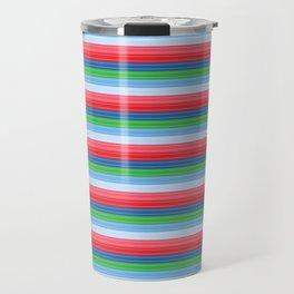Child's Play Chucky Inspired Stripes Travel Mug