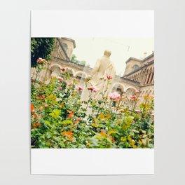 Garden at Hôtel-Dieu de Paris Poster