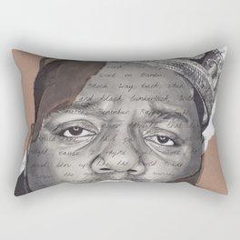 The Notorious BIG Rectangular Pillow